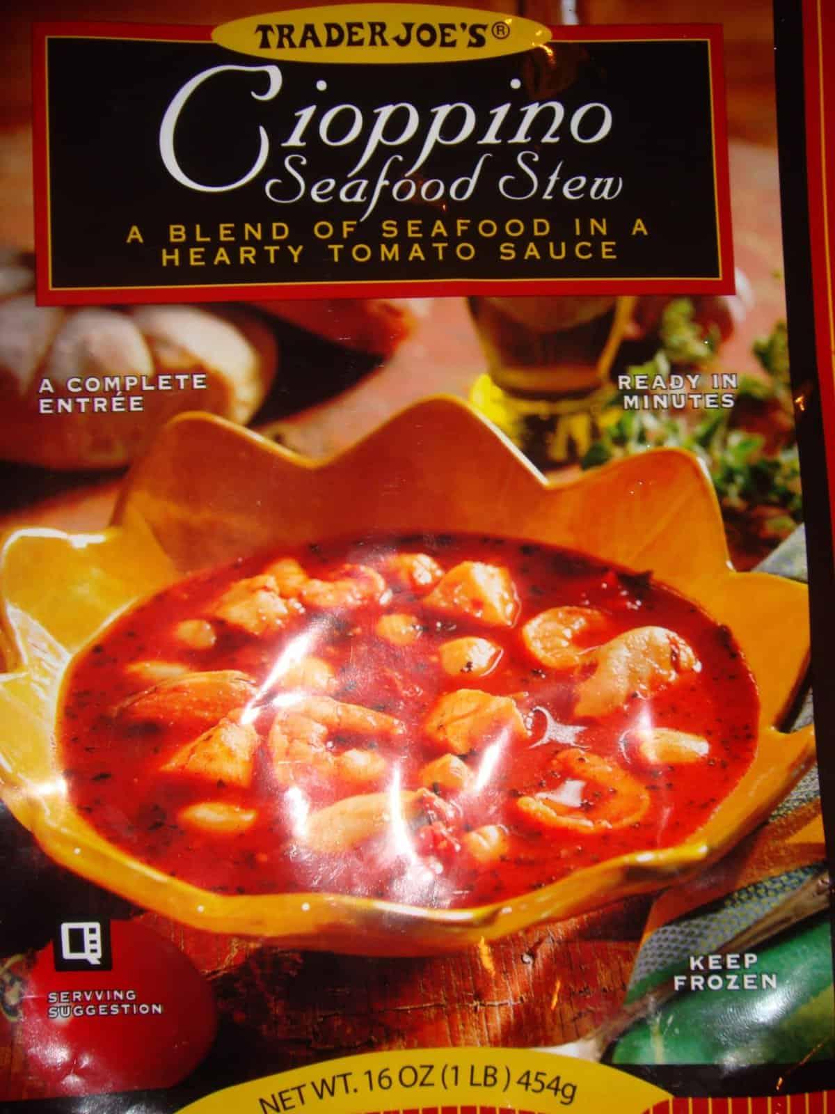 Trader joe 39 s cioppino sauce for Trader joe s fish