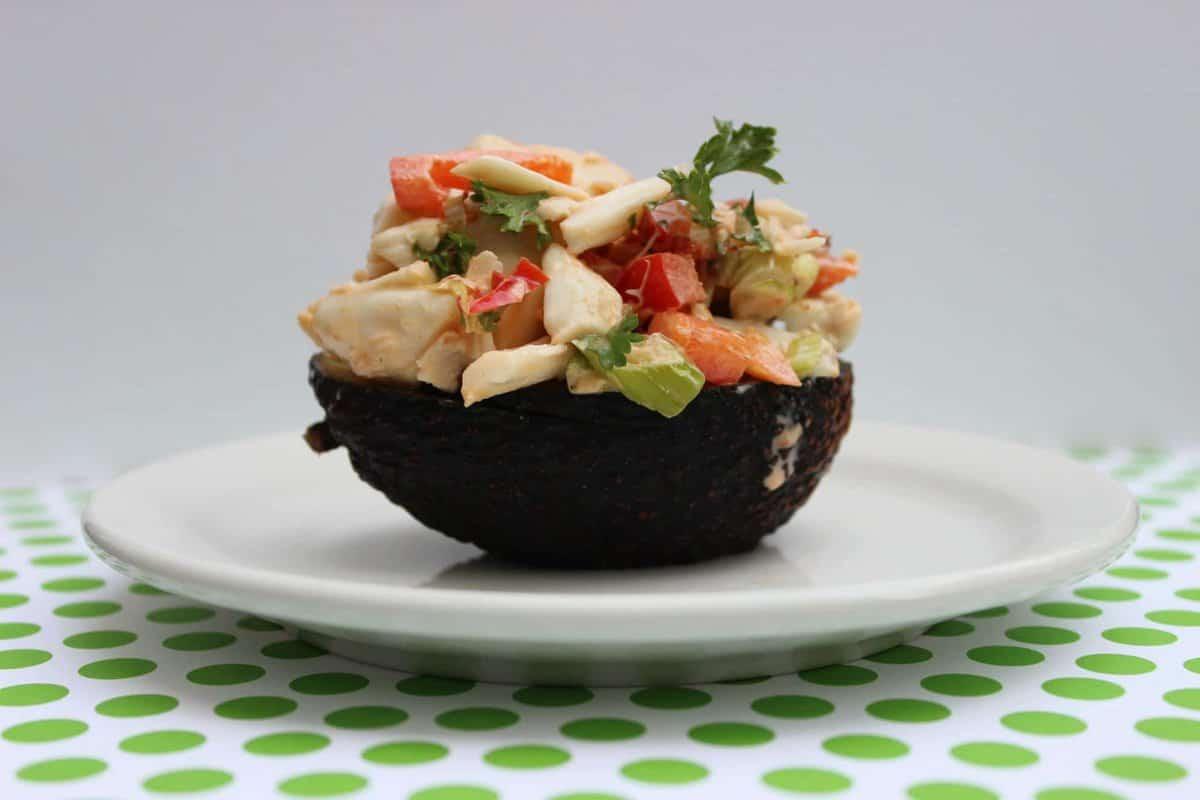 Spicy Lump Crab and Avocado Salad