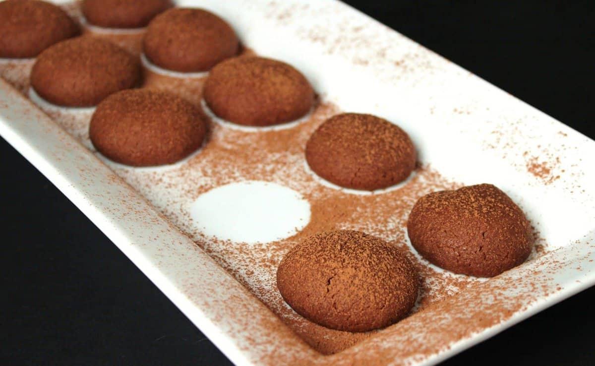 The Twelve Days of Cookies – Chocolate Shortbread Bites