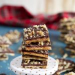 Saltine Cracker Toffee Recipe | TheSuburbansoapbox.com