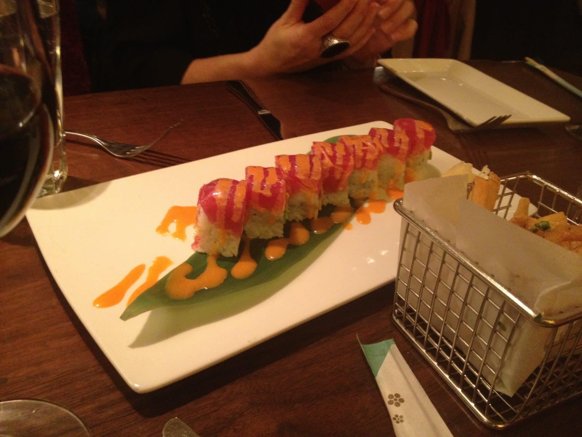 Tuna Two Ways Roll