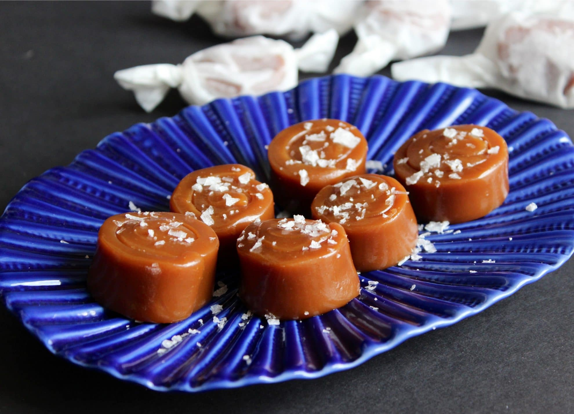 Seriously Addictive Sea Salted Caramels