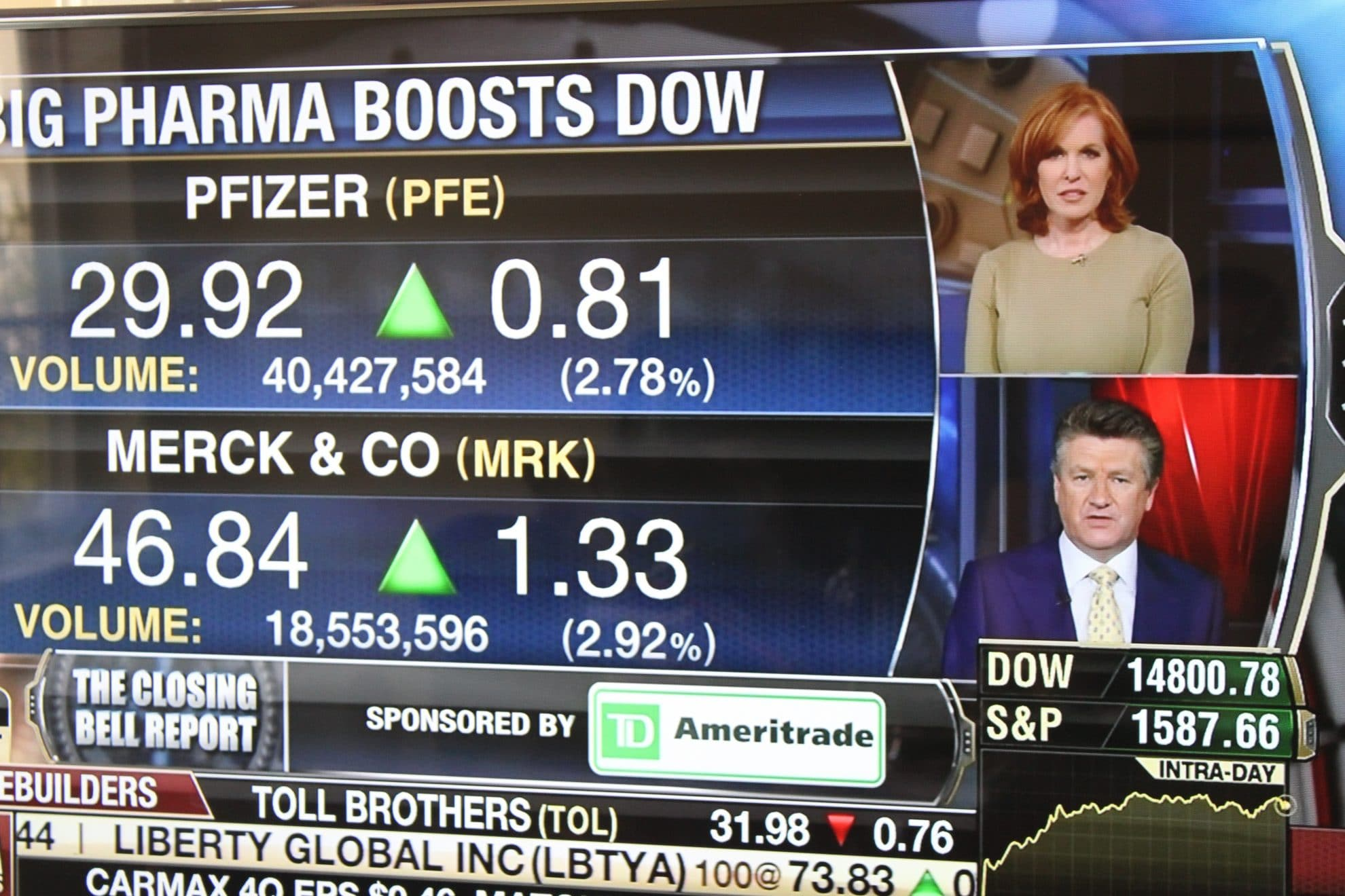 The Closing Bell Report.