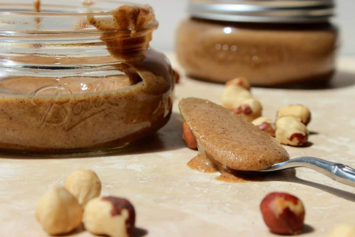 Cinnamon Vanilla Hazelnut Butter