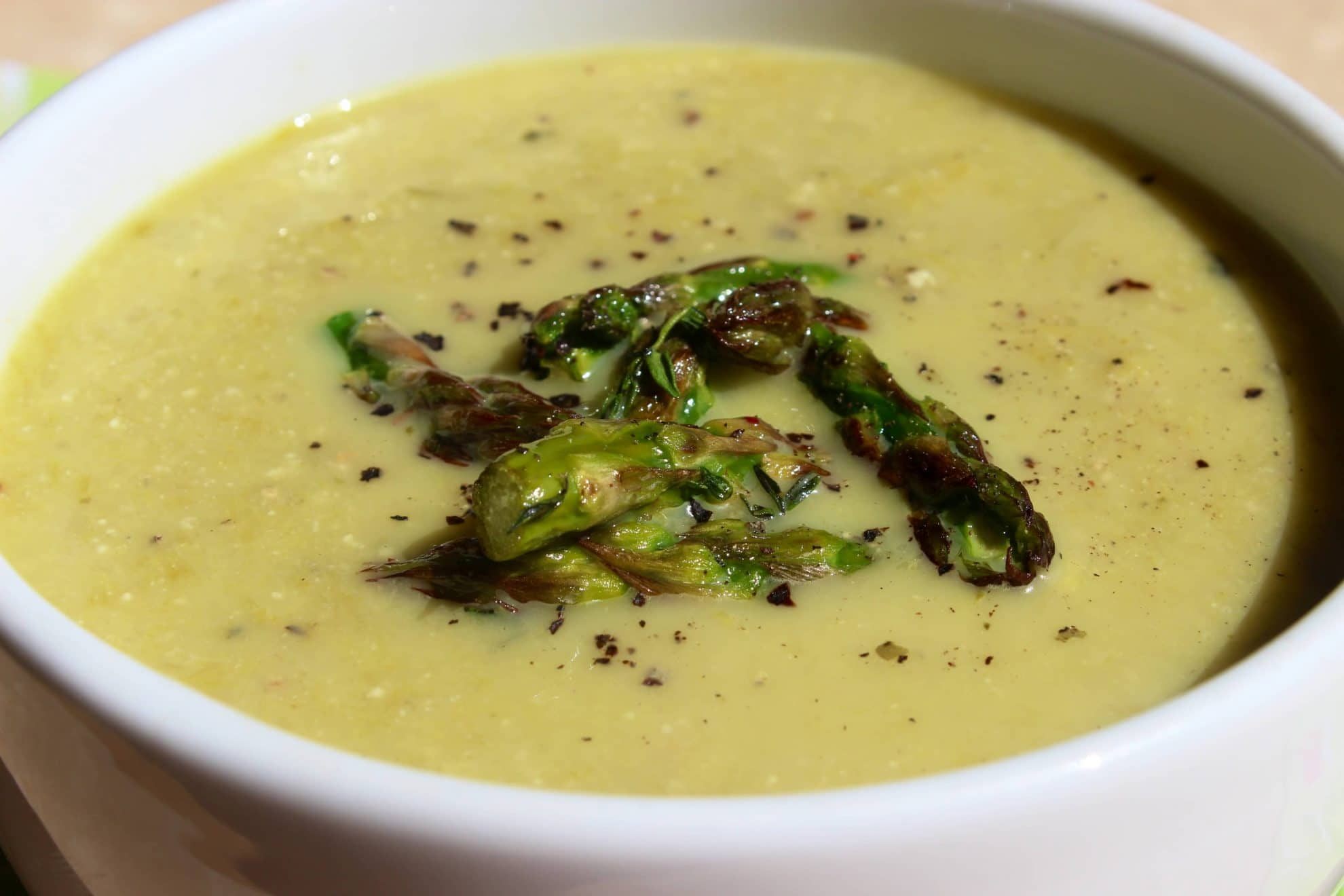 ... of asparagus soup healthy cream of asparagus cream of asparagus soup
