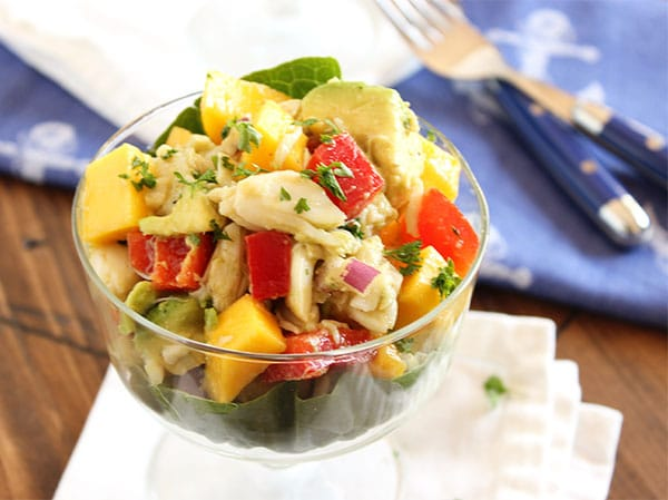 crab mango and avocado salad gretacooks crab mango and avocado salad ...