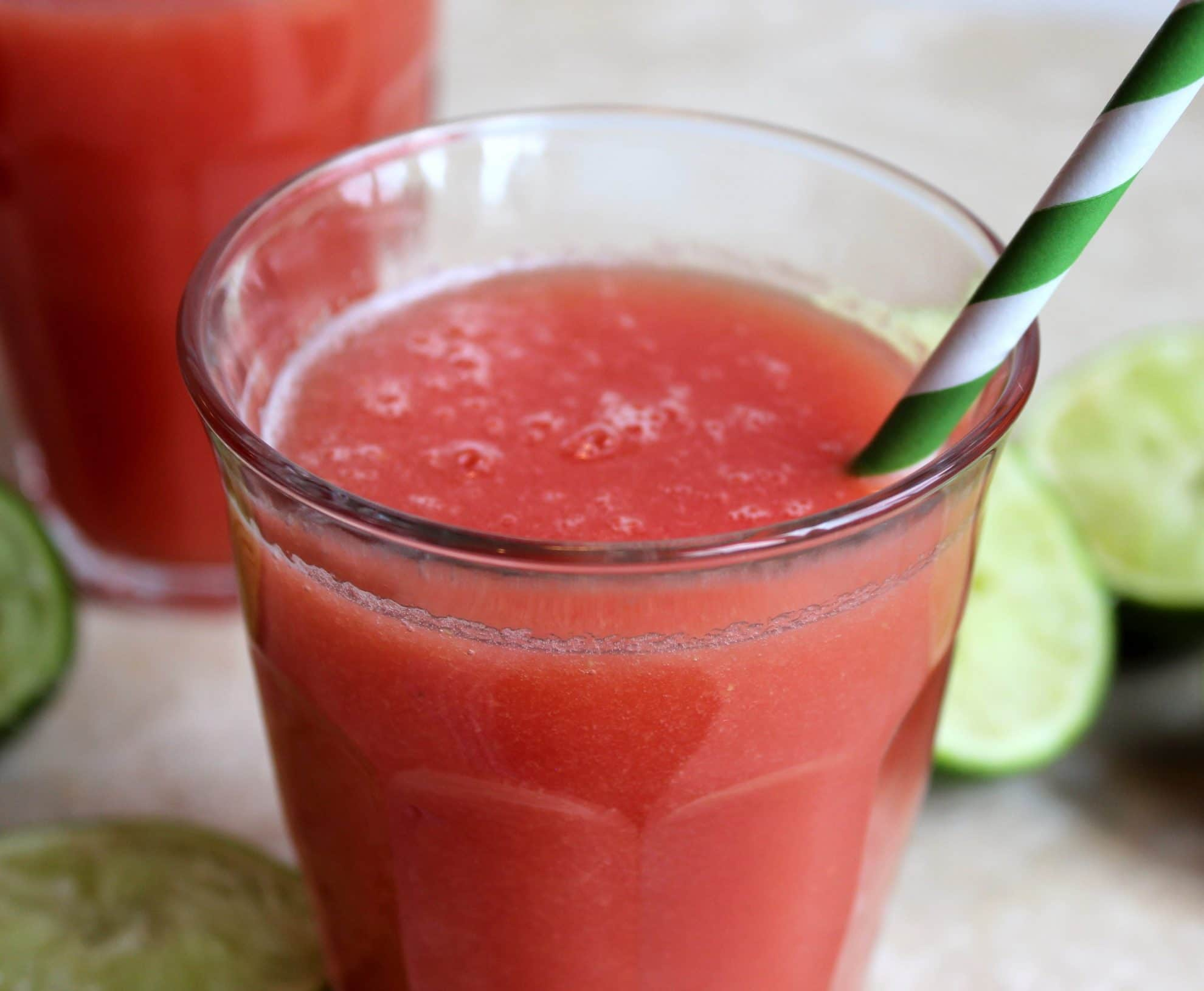 Watermelon Agua Fresca - The Suburban Soapbox
