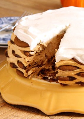 Pumpkin Ice Box Cake | The Suburban Soapbox
