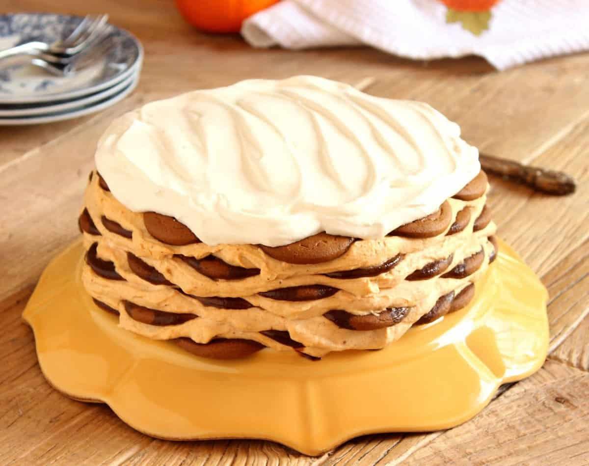 icebox cake gingerbread icebox cake with mascarpone mousse cake