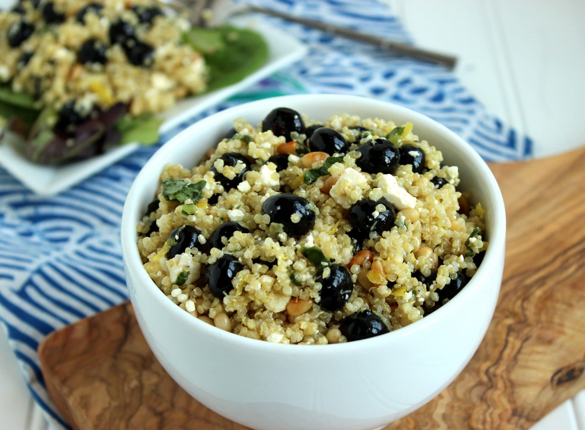Blueberry, Feta and Quinoa Salad