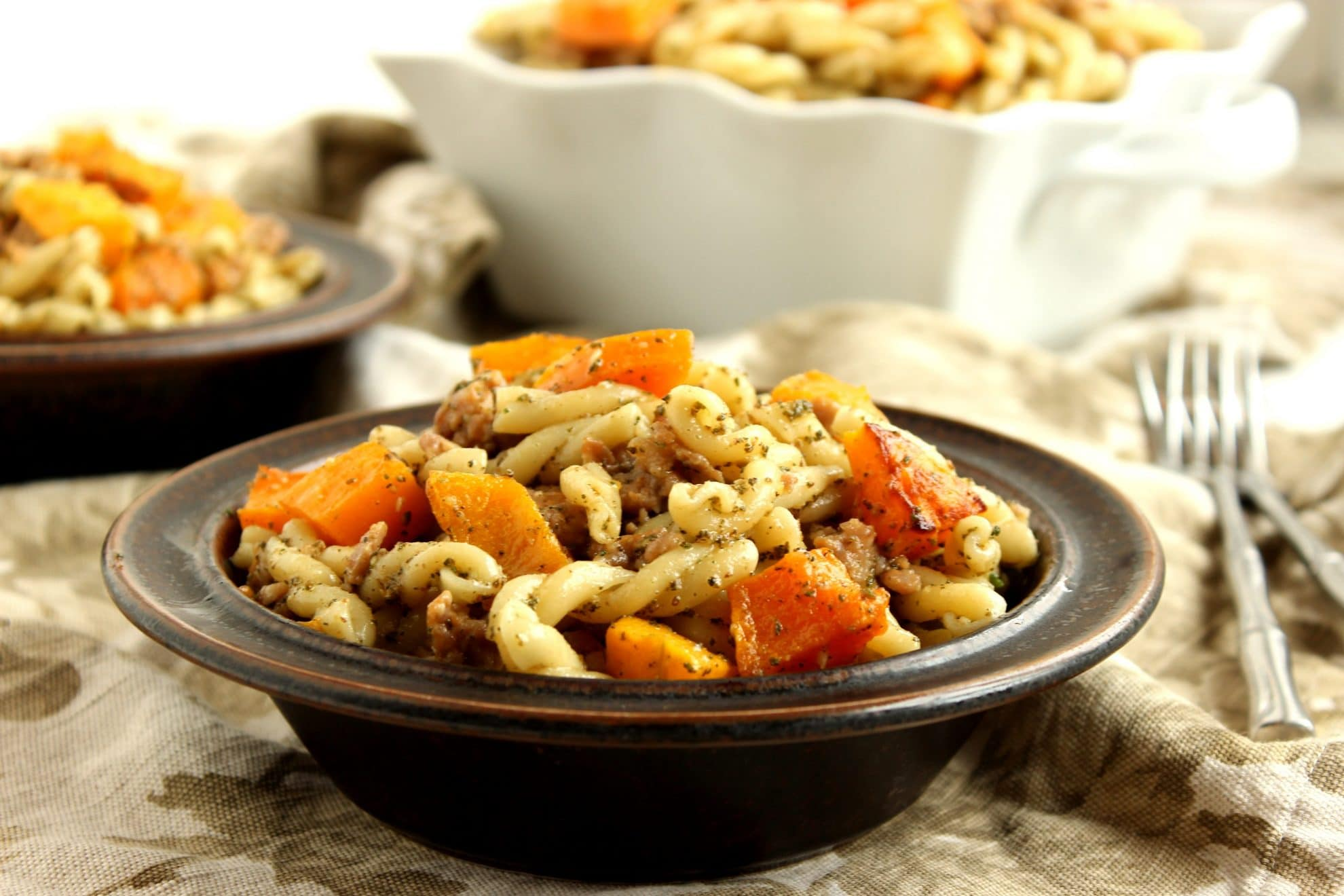 Butternut Squash, Italian Sausage And Sage Pasta Recipe ...