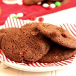 Mocha Brownie and Mint M&M Cookies | The Suburban Soapbox