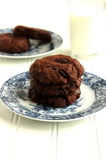 The Best Chocolate-Chocolate Chunk Cookies - The Suburban Soapbox
