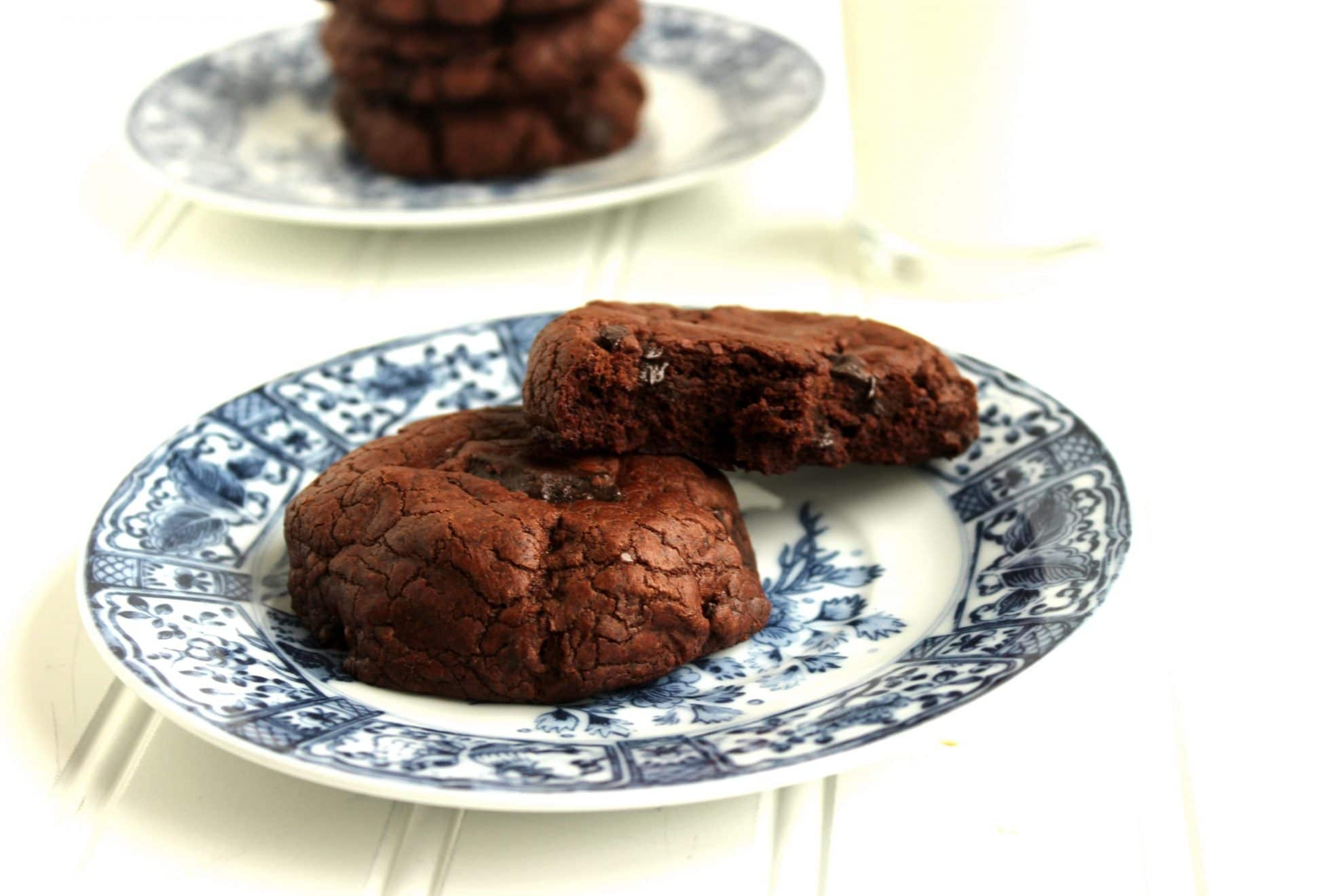 The Best Chocolate-Chocolate Chunk Cookies….Ever