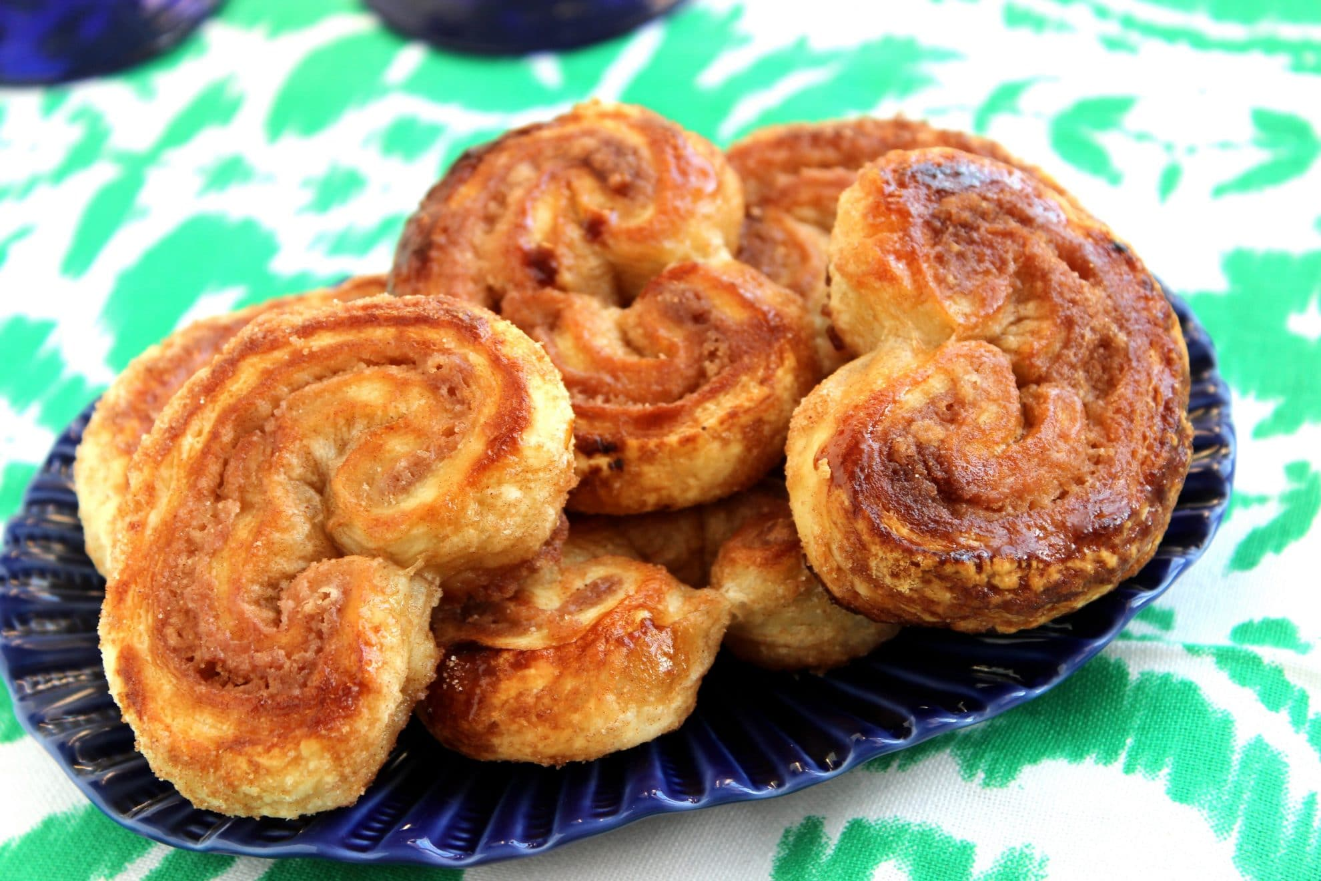 Cinnamon-Sugar Palmiers