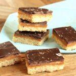 Salted Chocolate Caramel Shortbread | The Suburban Soapbox