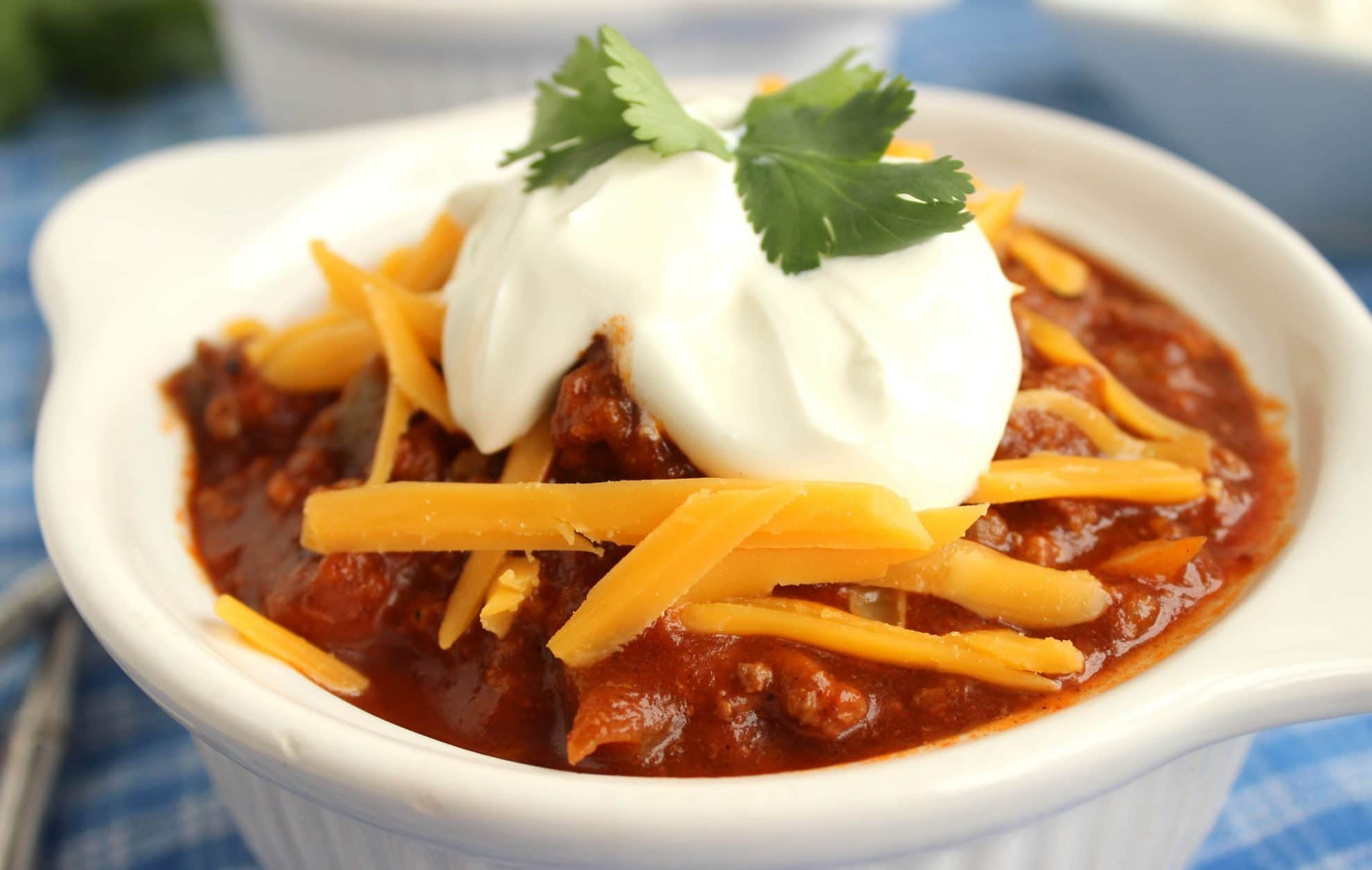 Slow Cooker Sweet and Spicy Chili - The Suburban Soapbox