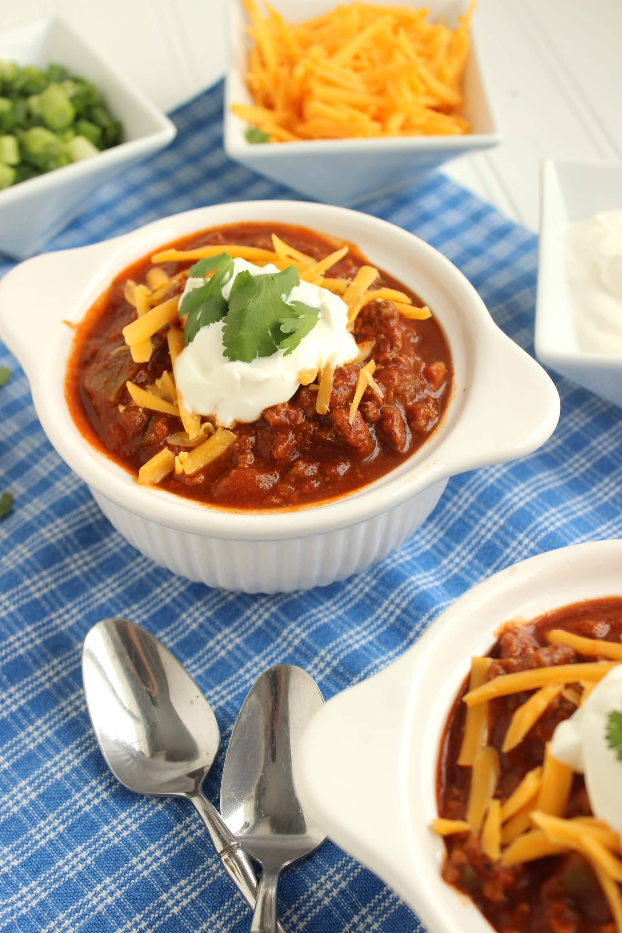 Sweet and Spicy Slow Cooker Chili | The Suburban Soapbox
