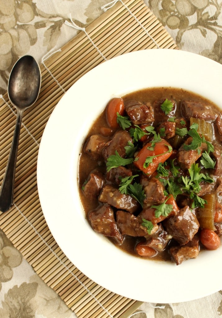 Slow Cooker Beef and Ale Stew | The Suburban Soapbox