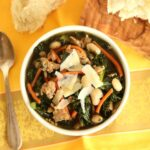 Sausage White Bean and Kale Soup - The Suburban Soapbox