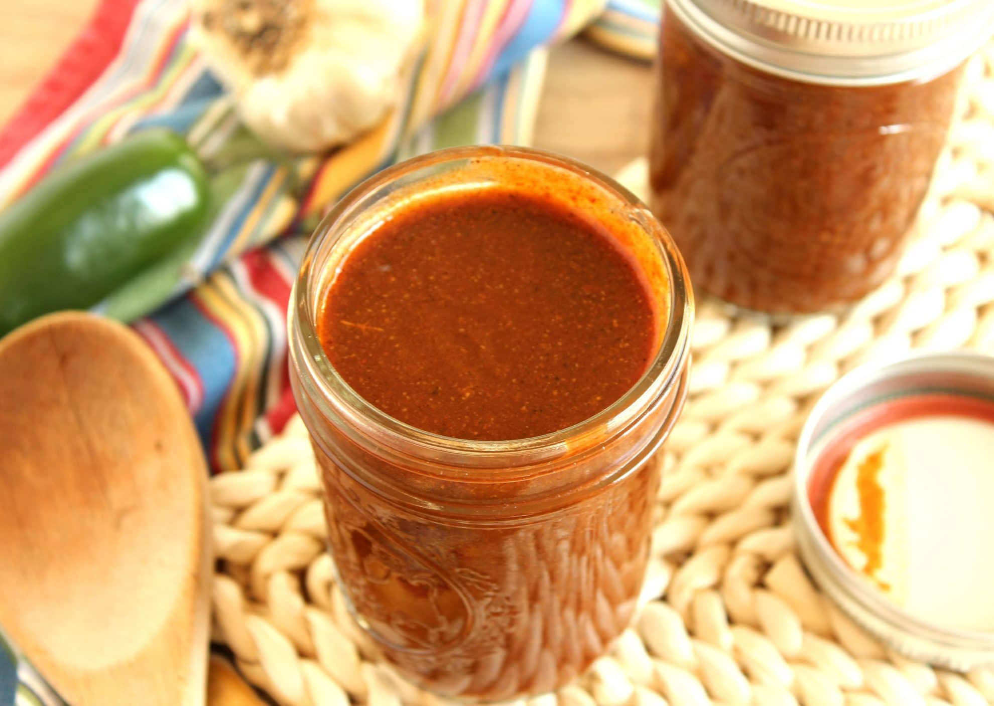 Easy Enchilada Sauce - The Suburban Soapbox