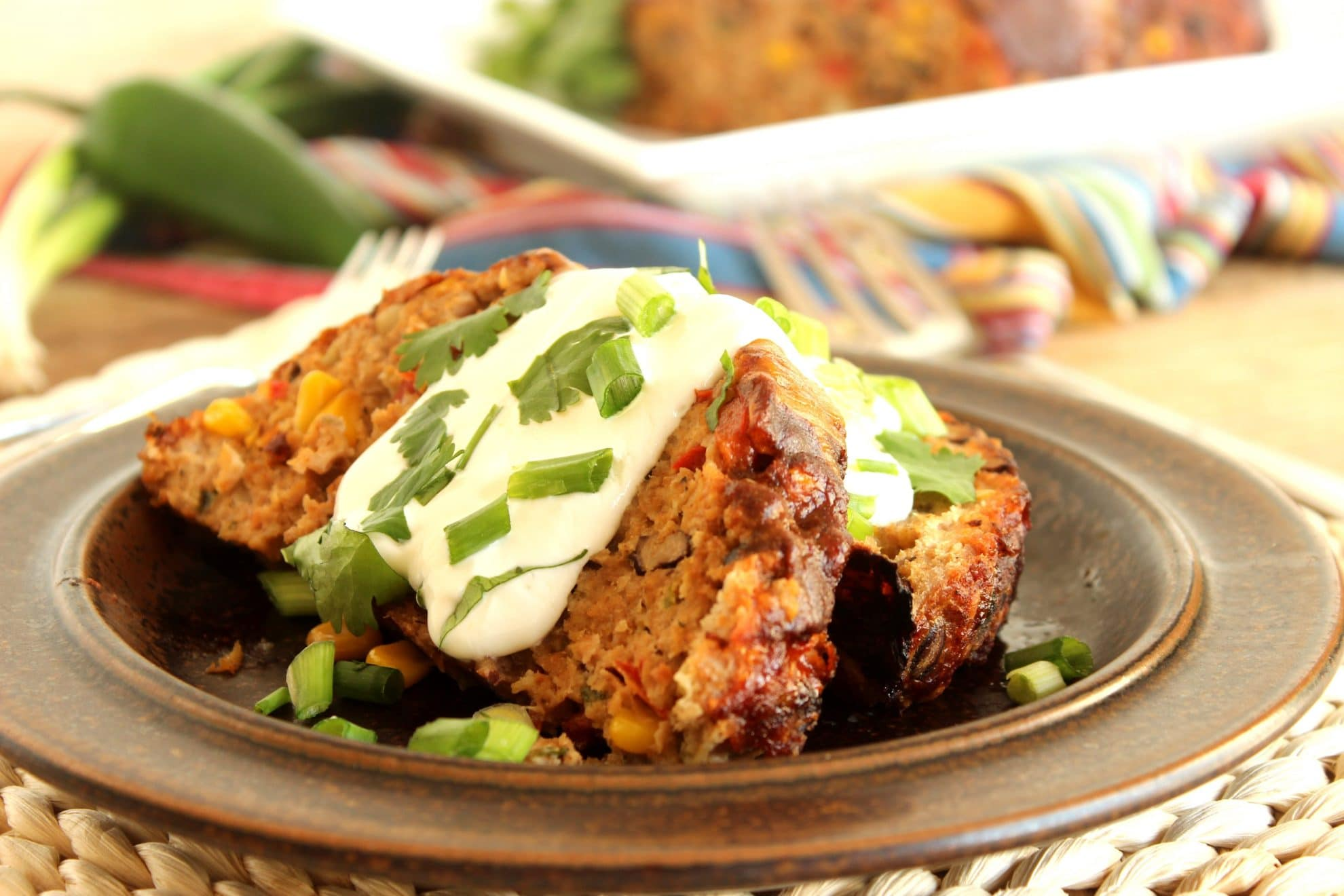 Southwestern Turkey Meatloaf | The Suburban Soapbox
