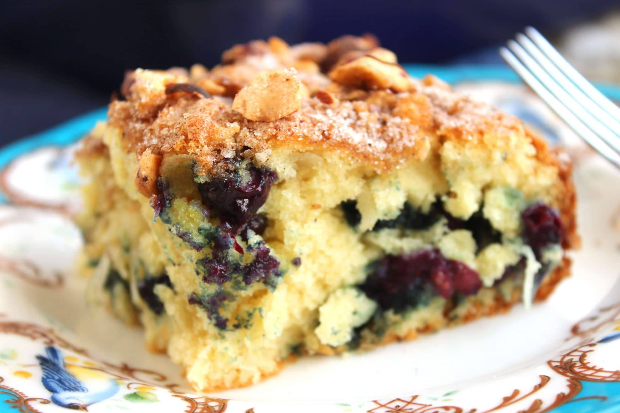 Blueberry Yogurt Coffee Cake