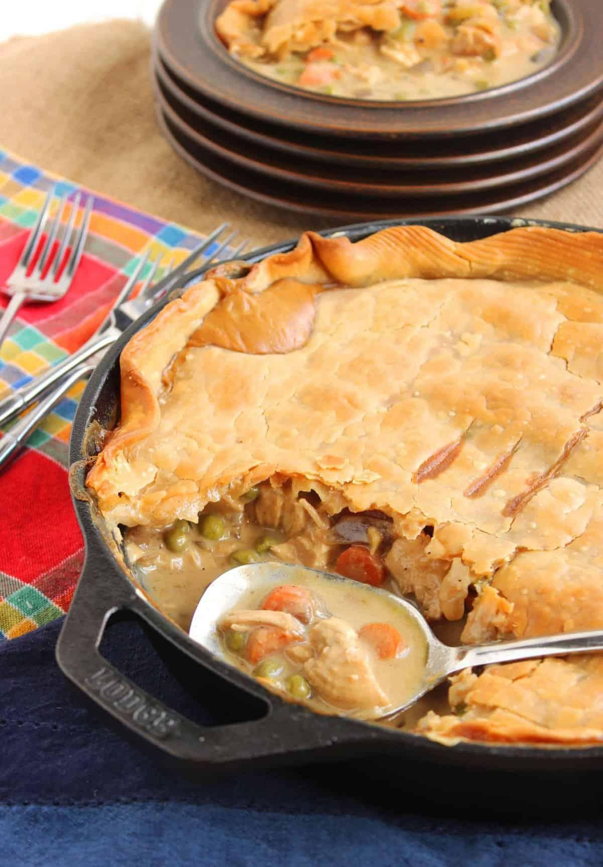 skillet chicken pot pie chicken breast pot pie for chicken parmesan ...