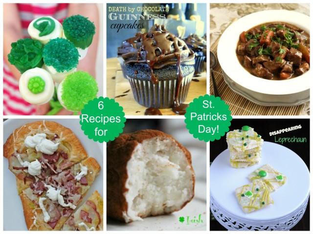 St Patrick's Day Recipes | The Suburban Soapbox