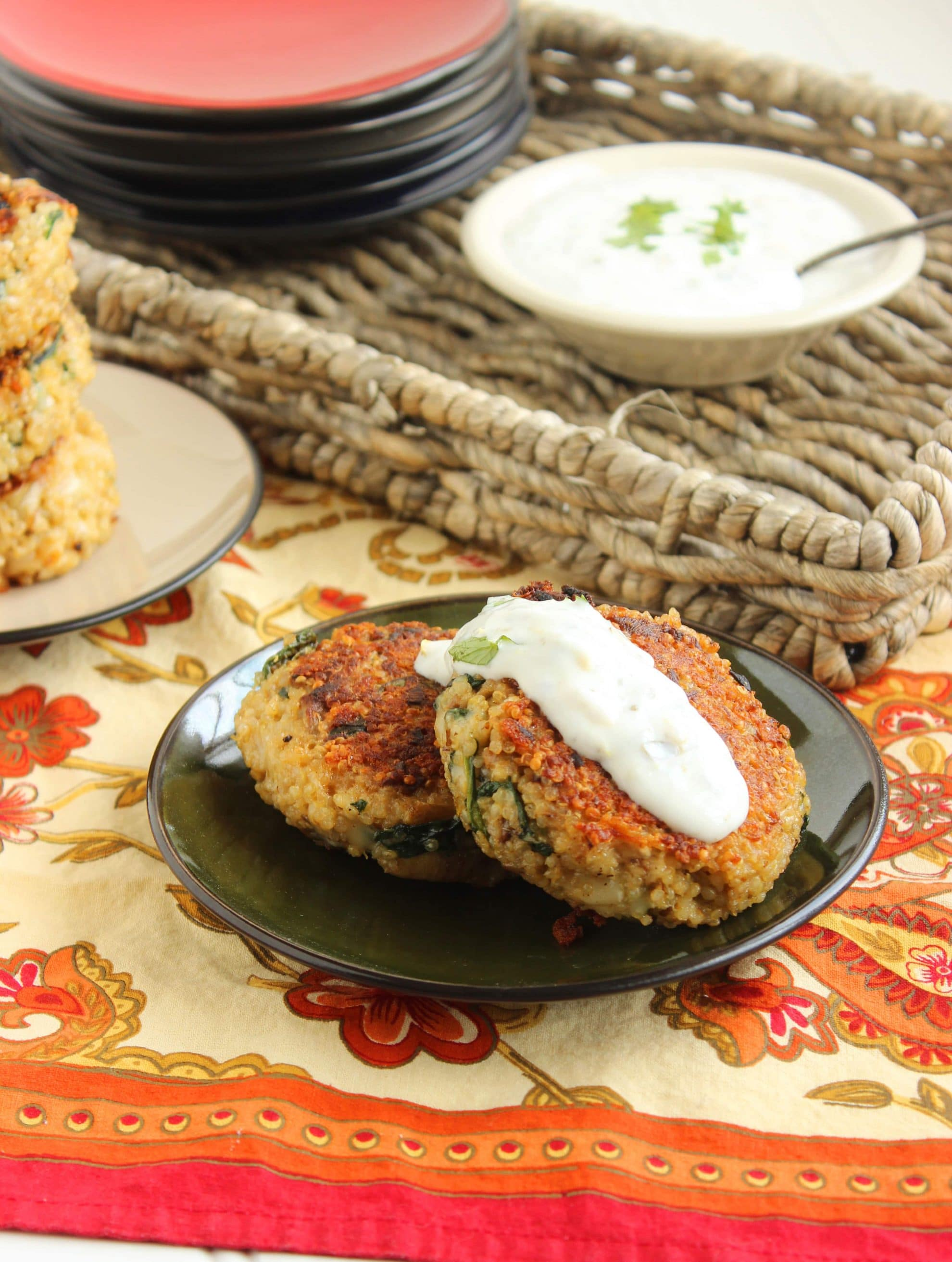 Cheesy Spinach Artichoke Cakes With Lemon Caper Sauce The Suburban Soapbox