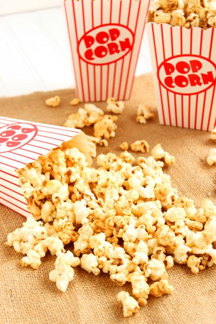 Chili Cheese Popcorn | The Suburban Soapbox