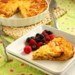 French Onion Quiche with Hash Brown Crust