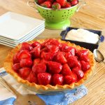 Fresh Strawberry Pie with Cream Cheese | The Suburban Soapbox