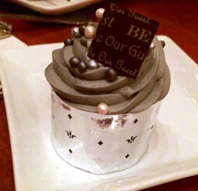 The Master's Cupcake at Be Our Guest | The Suburban Soapbox
