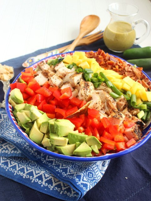 Caribbean Cobb Salad | The Suburban Soapbox