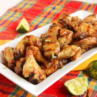Grilled Honey-Habanero Chicken Wings | The Suburban Soapbox