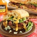 Grilled Beef Tenderloin Sandwich with Spicy Steakhouse Aioli | The Suburban Soapbox
