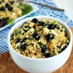 Blueberry Feta Quinoa Salad | The Suburban Soapbox