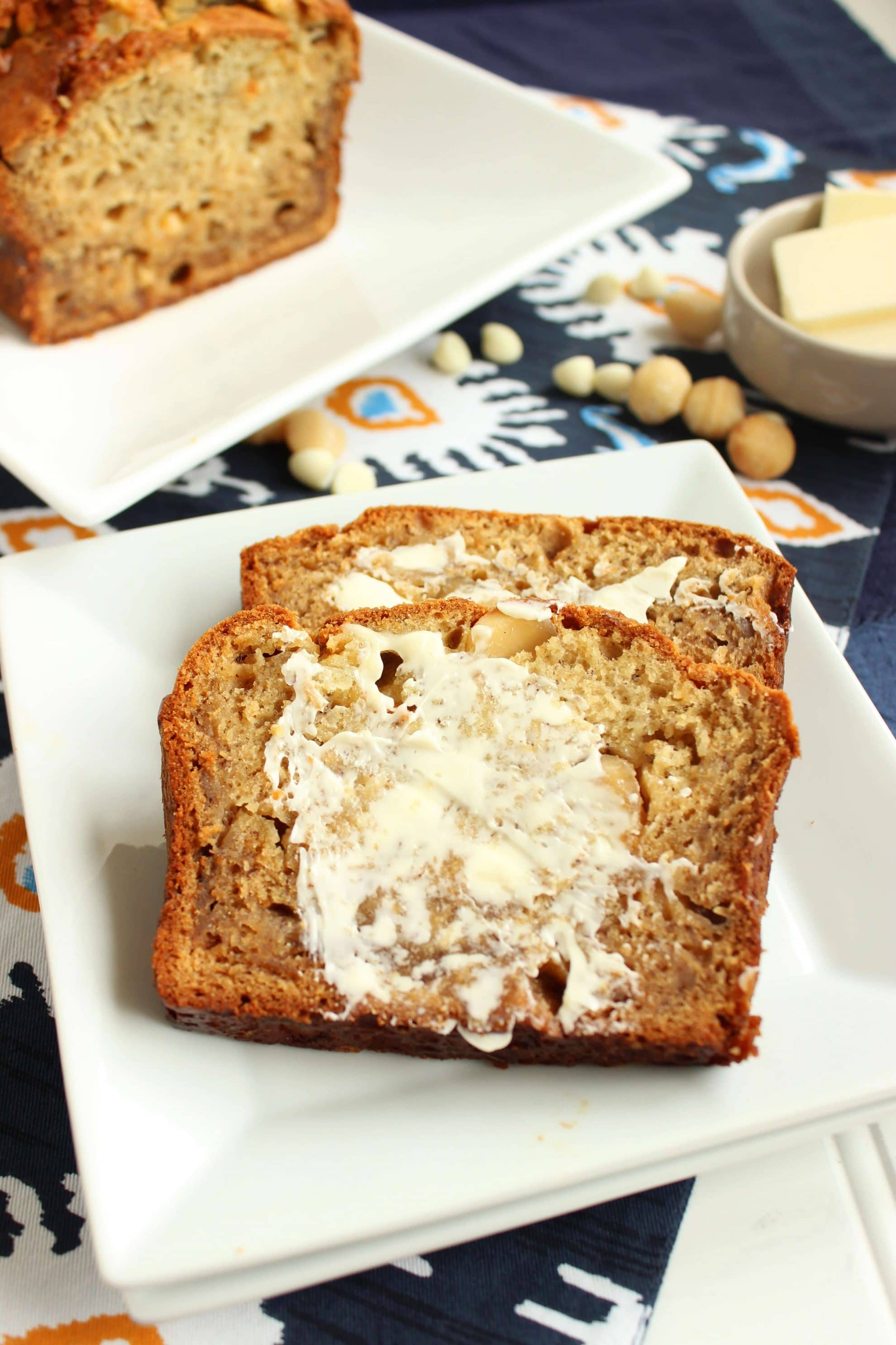 White chocolate macadamia banana bread the suburban soapbox white chocolate macadamia banana bread the suburban soapbox forumfinder Images