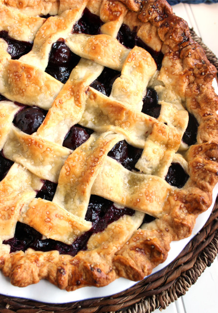 Homemade Cherry Pie | The Suburban Soapbox