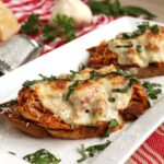 Open Face Chicken Parm Sandwich 2