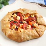 Tomato and Goat Cheese Crostata | The Suburban Soapbox