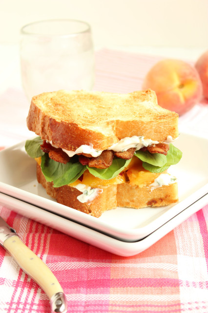 Tomato And Bacon Sandwiches With Bacon Basil Mayo Recipe — Dishmaps