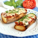 Bolognese French Bread Pizza 2
