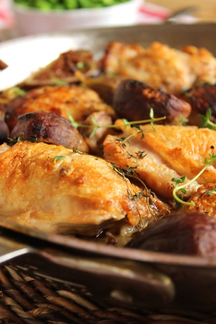 Chicken with FigsPan Roasted Crispy Chicken Thighs with Figs | The Suburban Soapbox