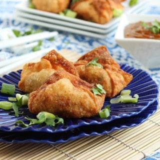 Chicken Pad Thai Wontons