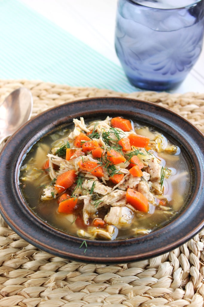 The Best Homemade Chicken Soup   The Suburban Soapbox
