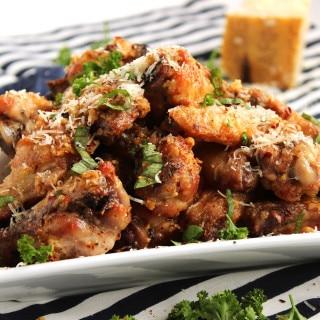 Baked Garlic-Parmesan Wings