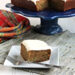 Spiced Zucchini Cake with White Chocolate Cream Cheese Frosting | The Suburban Soapbox
