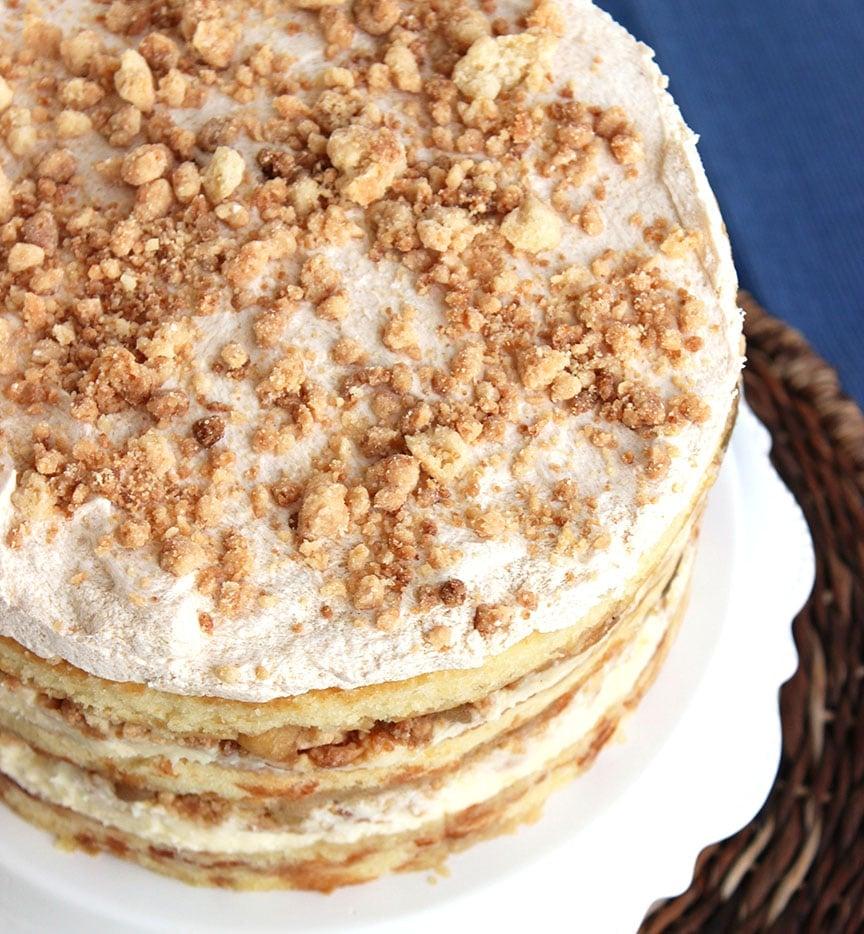 Apple Pie Layer Cake - The Suburban Soapbox